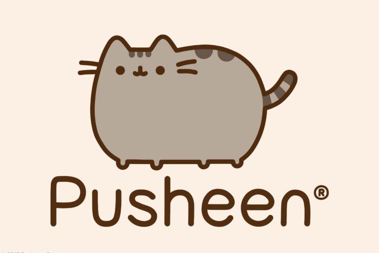 pusheen cat new tab theme