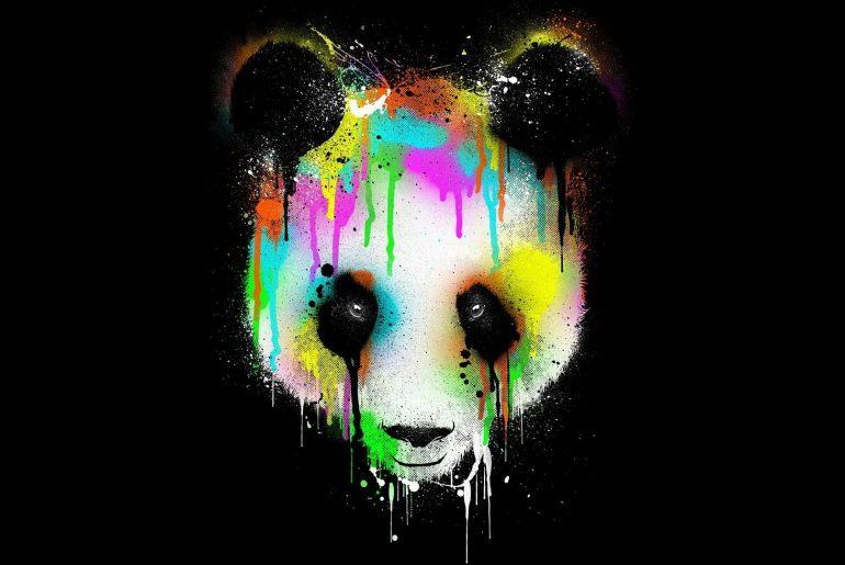 anime panda